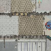 Contraste entre tag et vieilles tapisseries...